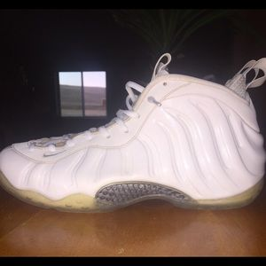 Nike Shoes - White Out Foamposites db59db934